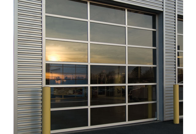 Kelley Entrematic Aluminum Sectional Doors (KA3552 and KA3502) are constructed of 2u2033 thick extruded aluminum rails and stiles for low maintenance and ...  sc 1 st  Kelley Entrematic & Aluminum Sectional Doors - Kelley Entrematic Dock Solutions