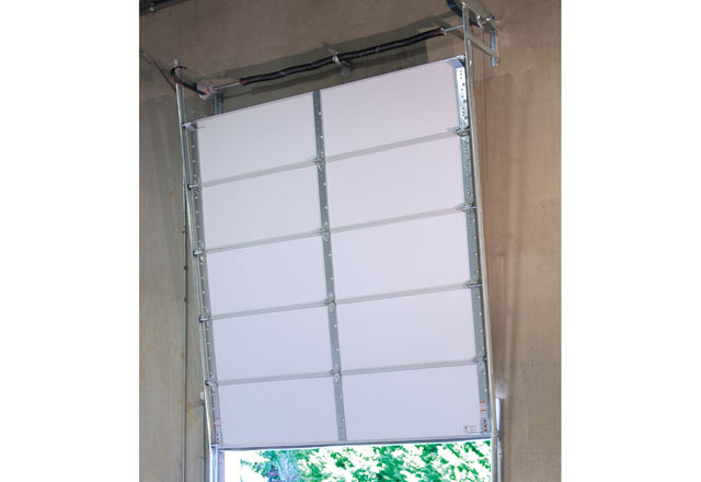 Rapid Install For Vertical Lift Commercial Sectional Doors