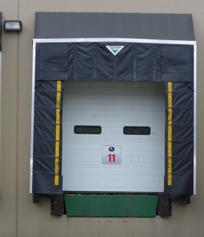 TS Rigid Frame Dock Shelter