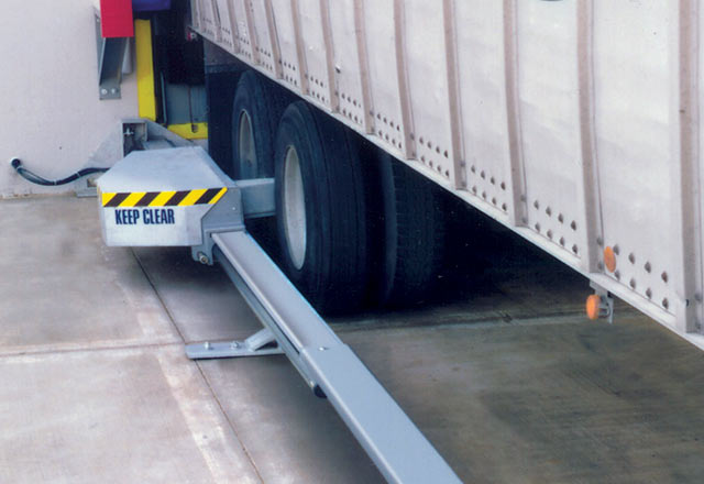 Wheel Chocking Systems Kelley Entrematic Dock Solutions