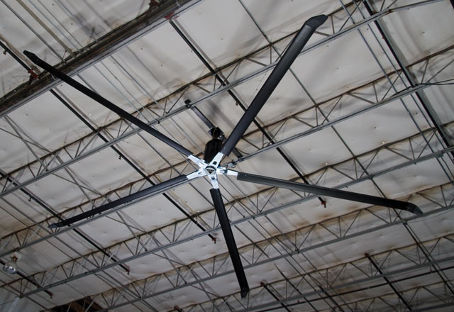 Kif industrial hvls fans kelley entrematic loading dock solutions aloadofball Image collections
